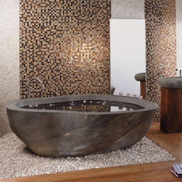 RiverStone Badekar - NATURSTEN - Ceramicas A/S