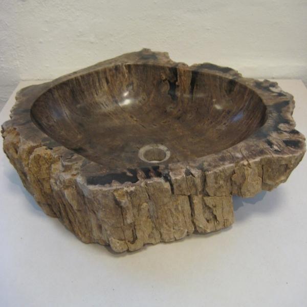 Vask forstenet træ